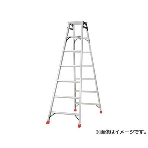 TRUSCO はしご兼用脚立 アルミ合金製・脚カバー付 高さ1.98m THK210 [r20][s9-910]