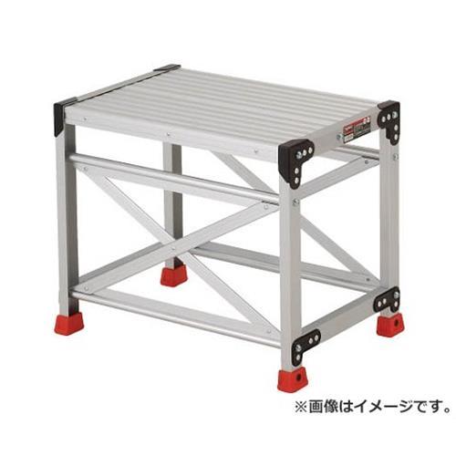TRUSCO 作業用踏台 アルミ製・高強度タイプ 1段 TSF165 [r20][s9-910]