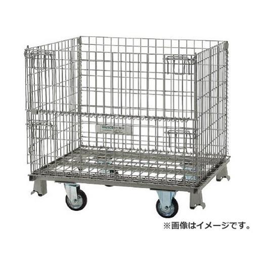 TRUSCO ネットパレット車輪付 900X650X755 500kg TNP2NS [r20][s9-920]
