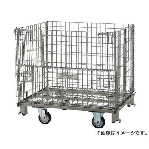 TRUSCO ネットパレット車輪付 1000X800X935 500kg TNP3NS [r22]