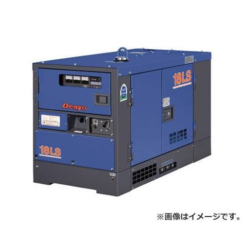 2019特集 防音型ディーゼルエンジン発電機 [r21][s9-940]:ミナト電機工業 デンヨー(Denyo) TLG18LSY-DIY・工具