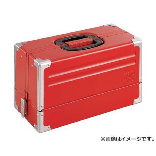 TONE ツールケース(メタル) V形3段式 433X220X240mm BX331 [r20][s9-910]