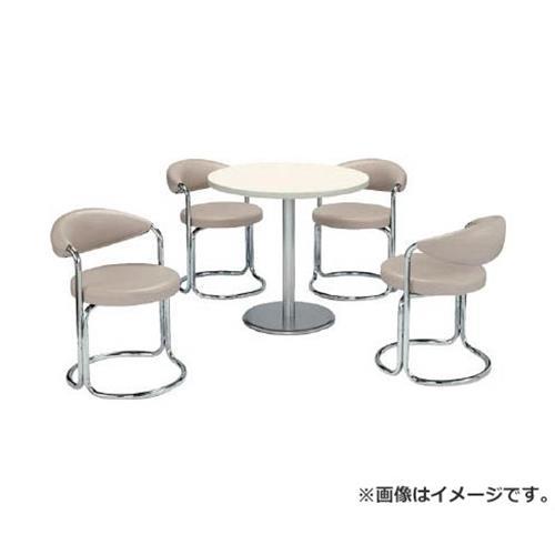 ミズノ 簡易応接セット用椅子(アイボリー) MK717