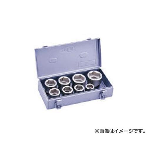 TONE インパクト用ソケットセット(メタルトレーケース仕様) 8pcs NV608S [r20][s9-910]