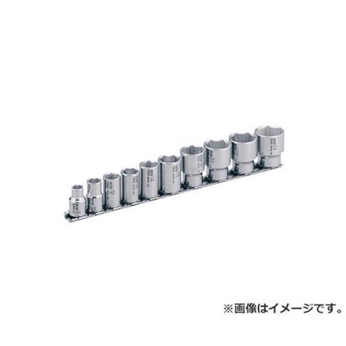 TONE SUSソケットセット(6角・ホルダー付) 10pcs SHS310 [r20][s9-920]
