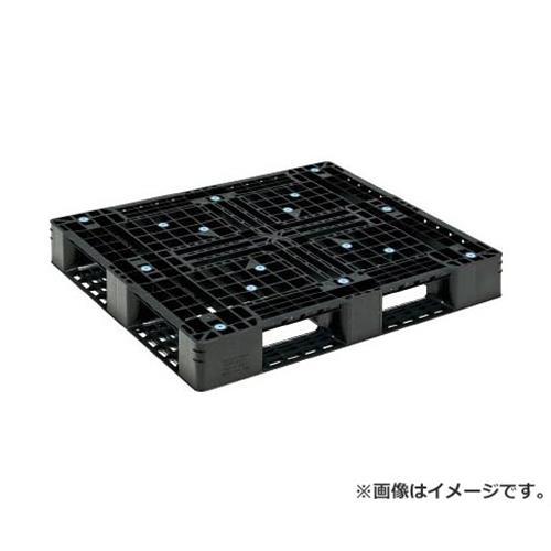 サンコー プラスチックパレット D4ー1012ー5 黒 SKD410125BK [r20][s9-900]