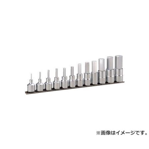 TONE ヘキサゴンソケットセット(ホルダー付) 12pcs HH412 [r20][s9-910]