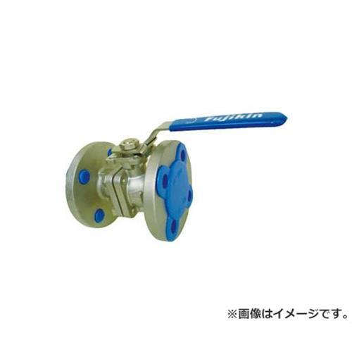 フジキン ステンレス鋼製1MPaフランジ式2ピースボール弁15A(1/2) UBV21J10RDALX [r20][s9-910]