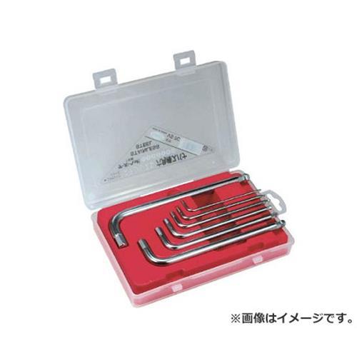 エイト 六角棒スパナ ステンレス製 テーパーヘッド セミロング セット VS7C [r20][s9-910]