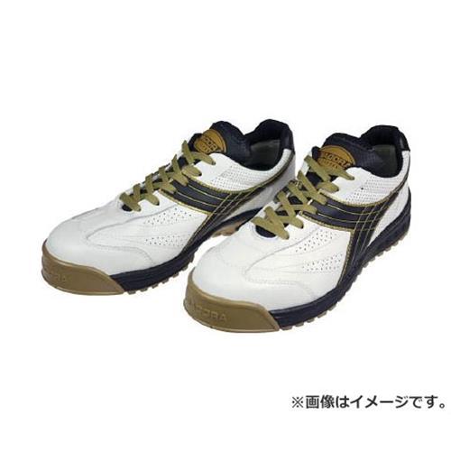 ディアドラ DIADORA 安全作業靴 ピーコック 白/黒 24.0cm PC12240 [r20][s9-910]