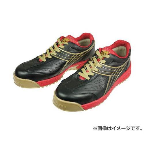 ディアドラ DIADORA 安全作業靴 ピーコック 黒 24.0cm PC22240 [r20][s9-910]
