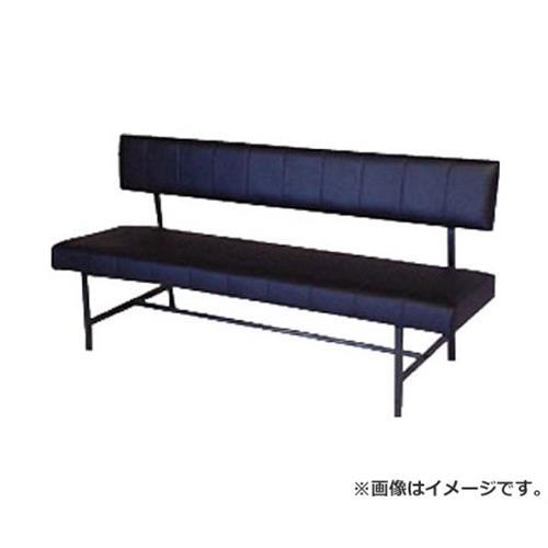 ミズノ ロビーチェア 背付き 黒 MC1215 (BK) [r21][s9-910]