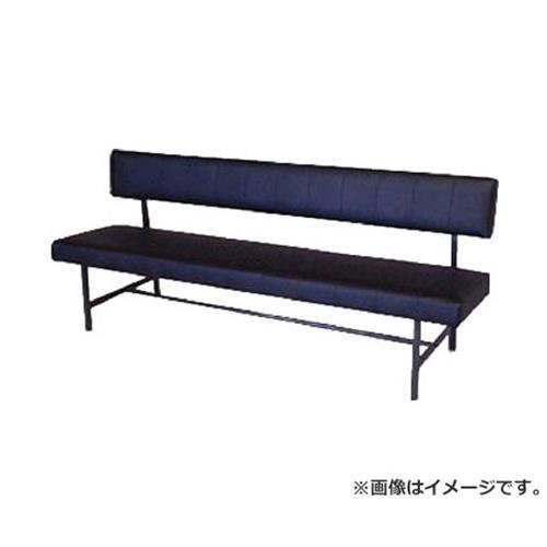 ミズノ ロビーチェア 背付き 黒 MC1218 (BK) [r20][s9-831]