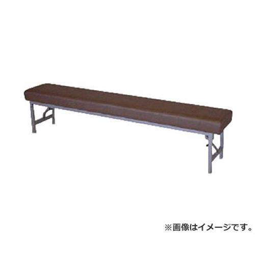 ミズノ ロビーチェア 背無し 薄茶 MC1428S (LBR) [r20][s9-910]