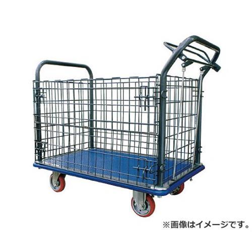 アイケー プレス製運搬車(金網・ハンドブレーキ付)915×615mm 307HB [r20][s9-920]