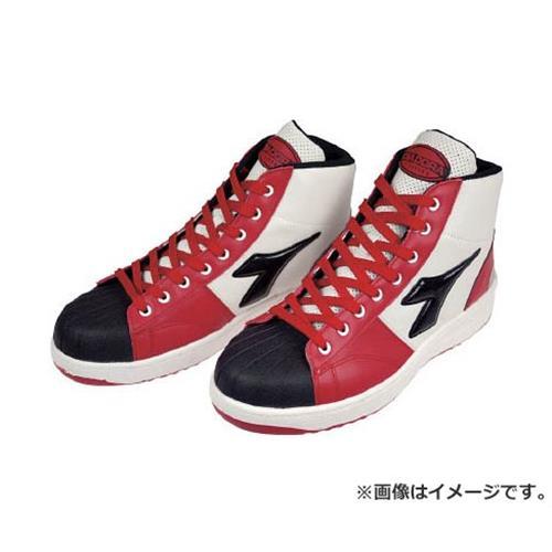 ディアドラ DIADORA 安全作業靴 エミュー 赤/クロ 24.0cm EM321240 [r20][s9-910]