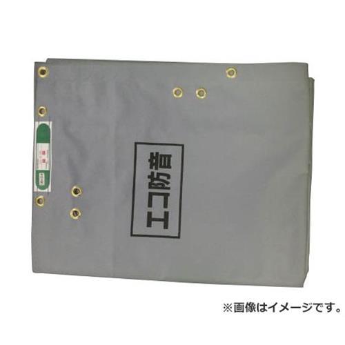 萩原 ECO防音シート 1.8m×3.4m グレー ECOBOUON1834 [r20][s9-910]