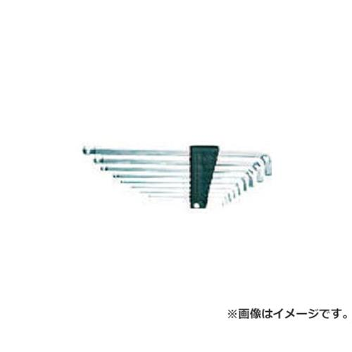 KTC ボールポイントL型ロング六角棒レンチセット首下ショートタイプ [r20][s9-910]