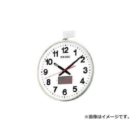 SEIKO ソーラー屋外用大型電波掛時計 527×450×78 金属枠 SF211S [r20][s9-833]