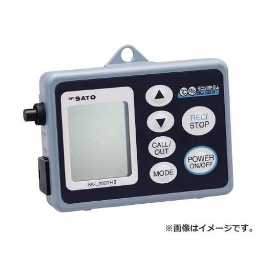 佐藤 データーロガー温湿度用 SKL200TH2A [r20][s9-910]
