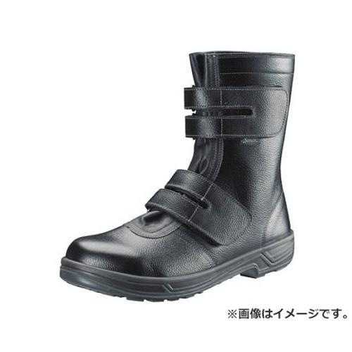 シモン 安全靴 長編上靴マジック式 SS38黒 23.5cm SS3823.5 [r20][s9-910]