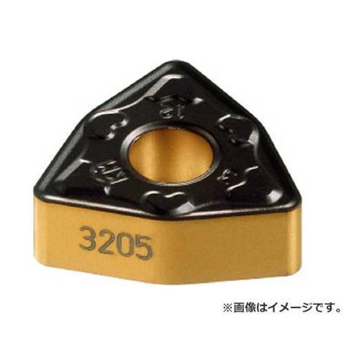 サンドビック T-Max P 旋削用ネガ・チップ 3205 WNMG080416KM ×10個セット (3205) [r20][s9-910]
