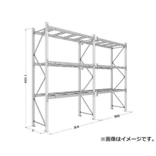 NFパレットラック1ton用単体 P640X25A083 [r21][s9-834]