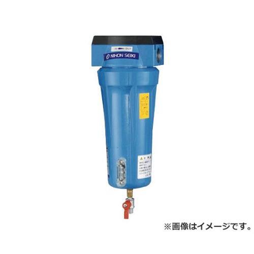 日本精器 高性能エアフィルタ15A1ミクロン(ドレンコック付) NITN215ADLDV [r20][s9-910]