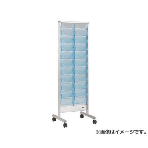 TRUSCO パンフレットスタンド A4サイズ対応 垂直2列10段 TAP210S [r20][s9-910]