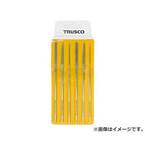 TRUSCO ダイヤモンドミニヤスリ 平・半丸・丸 6本組セット TMIS1 [r20][s9-910]