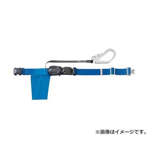 TRUSCO 巻取り式安全帯1本つり専用 幅50mmX長さ1200mm ブルー GROT593B [r20][s9-910]