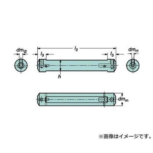 サンドビック コロターンXS 小型旋盤アダプタ CXSA2506 [r20][s9-910]