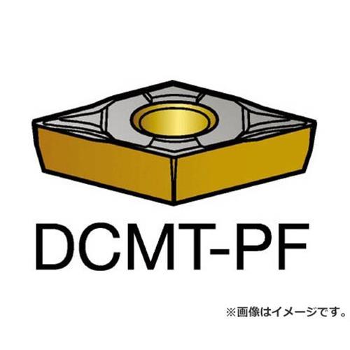 サンドビック コロターン107 旋削用ポジ・チップ 5015 DCMT11T308PF ×10個セット (5015) [r20][s9-910]