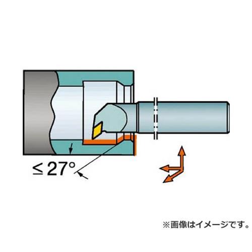 サンドビック コロターン107 ポジチップ用超硬ボーリングバイト E25TSDUCL11R [r20][s9-834]