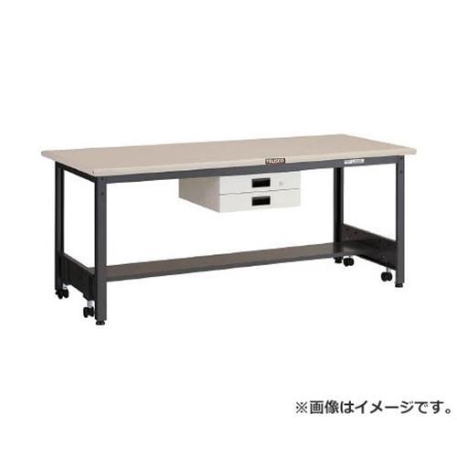 TRUSCO CFWS型作業台 1800X900XH740 薄型2段引出付 CFWS1890UDK2 [r21][s9-930]