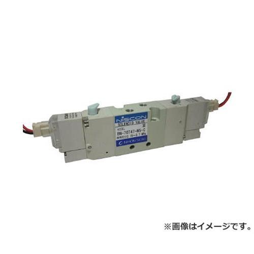 日本精器 4方向電磁弁M5ダブルDC24V7GT BN7GT47M5CF24 [r20][s9-910]