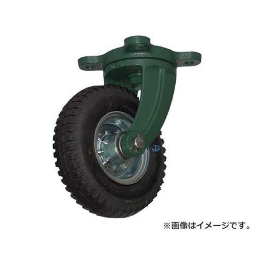 TRUSCO 鋼鉄製運搬車用空気タイヤ 鋳物金具自在Φ223(2.50-4) OARJ223 [r20][s9-910]