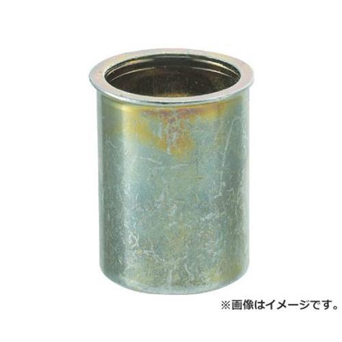TRUSCO クリンプナット薄頭スチール 板厚3.5 M4X0.7 1000入 TBNF4M35SC 1000個入 [r20][s9-910]