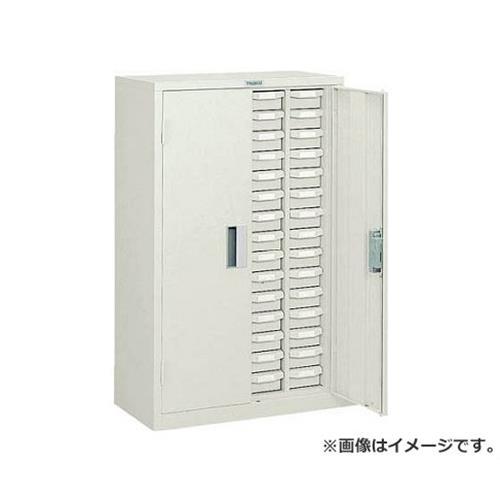 TRUSCO バンラックケースA型 扉付 4列15段 NG色 A415D (NG) [r22]