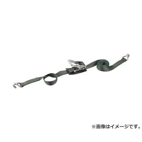 TRUSCO 強力型ベルト荷締機 SUS金具 50mm幅 700kg Jフック GX50S700J [r20][s9-910]