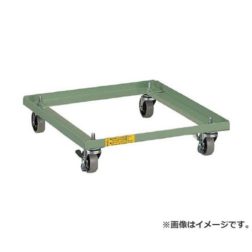 TRUSCO LVE型キャビネット用キャスター付ベース LVEC [r22]