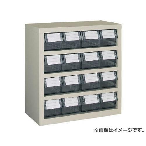当店の記念日 4列4段 横型バンラックケースM型 TRUSCO TM44B [r20][s9-920]:ミナト電機工業 592X307XH609-DIY・工具