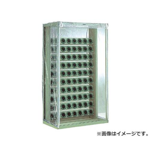TRUSCO ツーリングラック 帯電防止カバー付 BT・NT40用 100個収納 VTL1010B [r22]