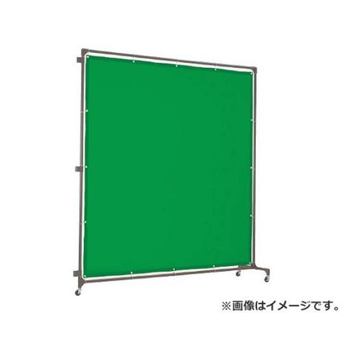 TRUSCO 溶接遮光フェンス 2020型接続 緑 YFASGN [r20][s9-910]