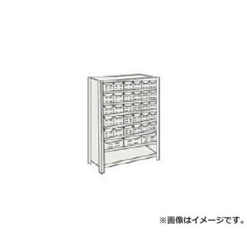 TRUSCO 軽量150型背引出付棚 900X300XH1200 実段7 TLA43K78 [r20][s9-910]