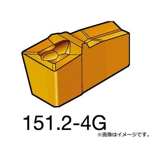 サンドビック T-Max Q-カット 突切り・溝入れチップ H13A N151.2500404G ×10個セット (H13A) [r20][s9-910]