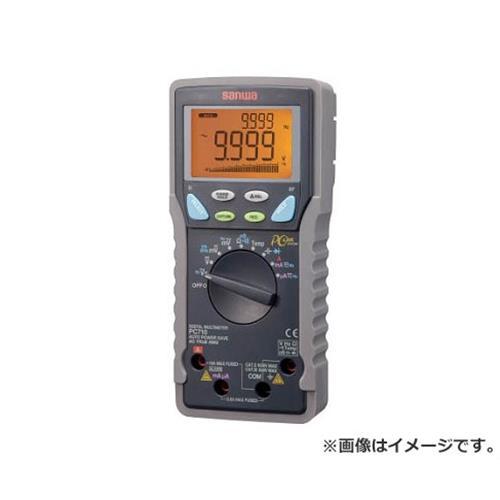 SANWA 真の実効値対応デジタルマルチメータ パソコン接続型 PC710 [r20][s9-910]