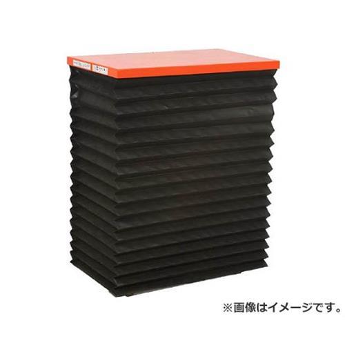 TRUSCO テーブルリフト100kg電動Bねじ200V蛇腹付520×850mm HDLH1058VJ22 [r22][s9-839]