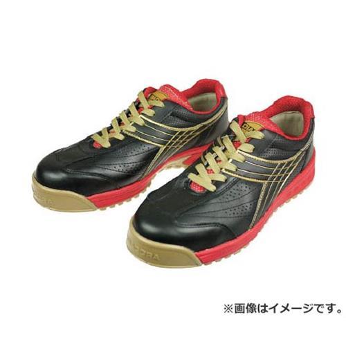 ディアドラ DIADORA 安全作業靴 ピーコック 黒 24.5cm PC22245 [r20][s9-910]