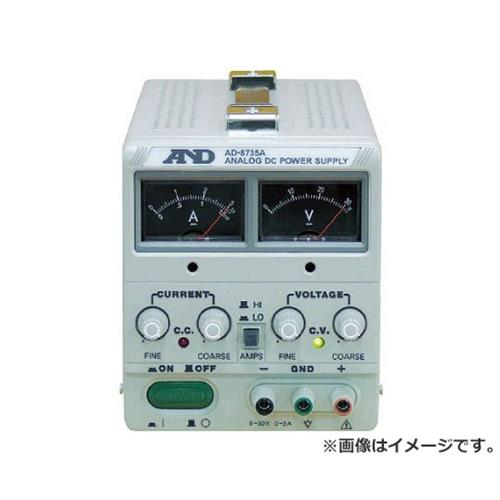 A&D 直流安定化電源トラッキング動作可能アナログ・メーター方式 AD8735A [r20][s9-910]